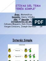Ppt Interes Simple