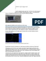 Hantek DSO5062B 250MHz input stage mod