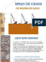 COLUMNAS DE GRAVA