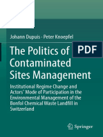 The Politics of Contamined Sites