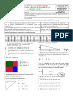 Bimestral_Matematicas 8°  periodo 2019