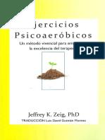 Ejercicios Psicoaeróbicos- J. Zeig