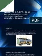 NOM-020-STPS-2011 Recipientes Sujetos a Presión, Recipientes Criogénicos