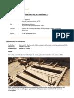 APC-DSL-008 Informe Diario de Actividades 09-08-19