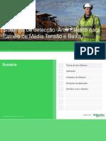Sistemas de Detecção Arco Elétrico Para Painéis de Média Tensão e Baixa