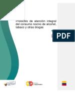 Protocolo de atención integral del consumo nocivo de alcohol, tabaco y otras drogas