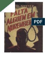 Falta Alguém Em Nuremberg - Torturas Da Policia de Filinto Strubling Müller