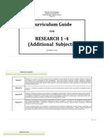 Research 1 4 Stem Curriculum Guide