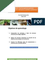 Clase 5 Unidad II. Farmacognosia General y Extractos de Plantas