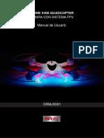 DroneBidcomManualDRMJX001
