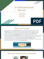 Modelo Tradicional Lineal- Harvard.