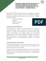 ESPECIFICACIONES TECNICAS - MODIF.