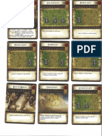 CARTAS Battlelore Comand Cards 1