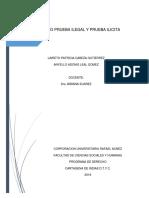 PRUEBA ILEGAL Y PRUEBA ILICITA.docx