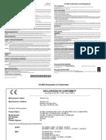 VeriFone DOC268-001-En-Revisão I (2018)_Vx680 Certifications and Regulations