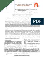 La Importancia Del Desarrollo de Habilidades Directivas en Los Alumnos de Ingeniería Geotécnica