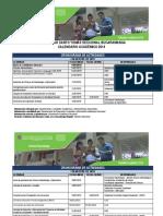 Calendario2019 2020 USTA Bucaramanga