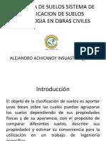 MECÁNICA DE SUELOS SISTEMA DE CLASIFICACION DE SUELOS CLASE 2.pptx