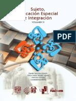 Sujeto, Educación Especial e Integración VOLUMEN VI