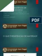 RESISTÊNCIAS DE MATERIAIS 2 - AULA 2.pptx