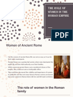 The Role of Women in the Roman Empire (1)