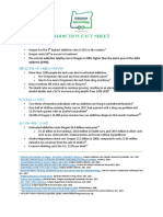 Oregon Recovers - Addiction Fact Sheet