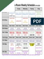kindergarten schedule  15