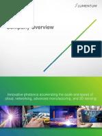 Lumentum Company Overview