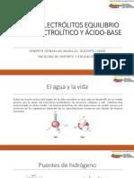 Magistral 2- Agua y Electtrolitos