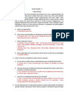Estudo Dirigido - Endócrino - Pedro Luiz