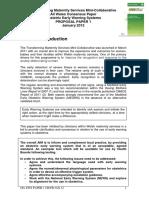 FINAL Obstetric EWS Paper 1 Proposal Paper Jan 12