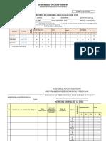 Concentrado Evaluacion Fin de Curso 2019