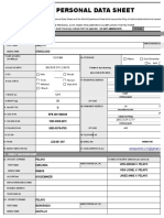 New PDS Form