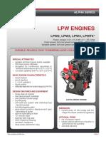Motores Lister Petter Serie Alpha