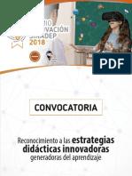 Convocatoria Premio Innovacion Sinadep 2018 v3