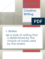 Elements of Creative Writing