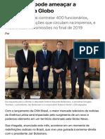 CNN Brasil pode ameaçar a liderança da Globo | EXAME