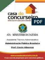 Apostila de administração pública