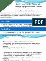 El Congreso Anfictionico de Panama