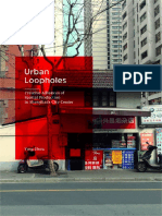 Urban Loopholes Creative Alliances of Spatial Production in Shanghai's City Center