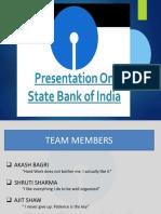 Presentation on SBI