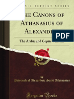 The Canons of Athanasius of Alexandria - 9781440091735