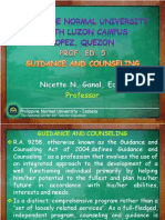 Guidance and Counseling Powerpoint