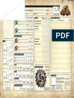 Iron Kingdoms Character Sheet Fillable1 Savable