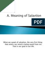 Salavation Histor