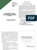 NORMAS GENERALES Y MODELO PARA ELABORACION Y PRESENTACION DEL INFORME DE PASANTIA 2014.doc