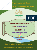 Class I Eng Resource material