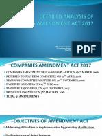 Companies Amendment Bill Presentation - Detailed Analysis