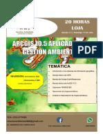Ficha Informacion Seminario Arcgis LOJA