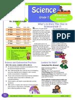 science-grade7 syllabus brunner 2019-20